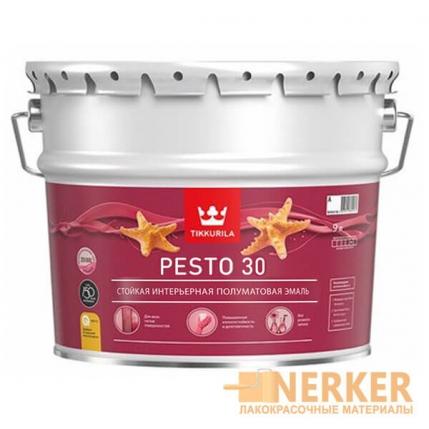 Евро Песто 30 - интерьерная полуматовая эмаль (Euro Pesto 30)