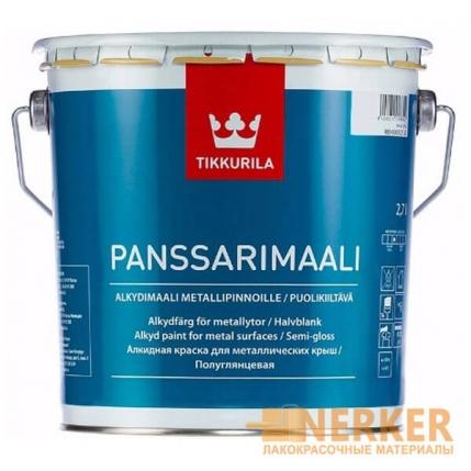 Панссаримаали - краска для крыш (Panssarimaali)