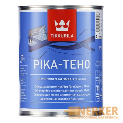 Пика-Техо краска для деревянного дома (Pika-Teho)