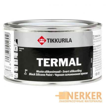 Термал черная силиконовая краска (Termal musta silikonimaali)