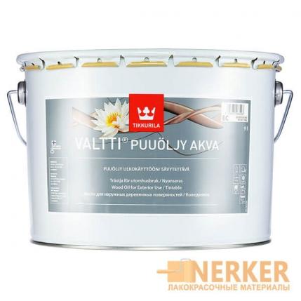 Валтти Аква масло для дерева (Valtti Puuolja Akva)