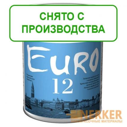 Евро 12 полуматовая интерьерная краска (Euro 12 Tikkurila)