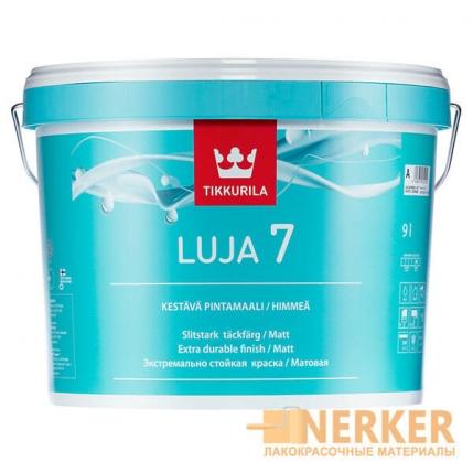 Луя 7 матовая краска для влажных помещений (Luja 7)