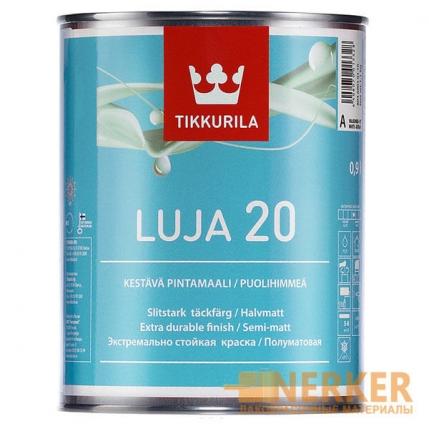 Луя 20 полуматовая моющаяся краска для ванной комнаты (Luja 20)