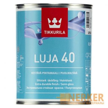Луя 40 полуглянцевая краска для кухонь и ванных комнат (Luja 40)