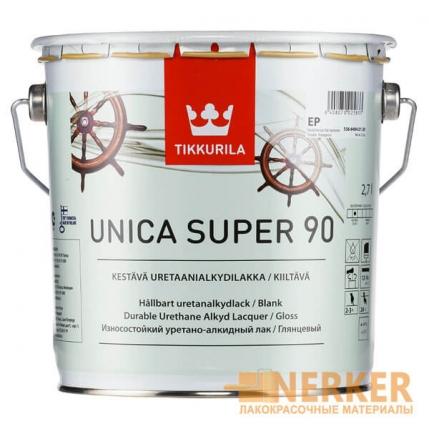 Уника Супер влагостойкий яхтный лак глянцевый (Unica Super 90)