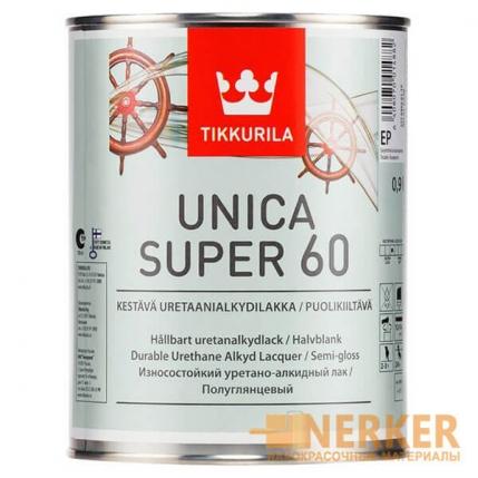 Уника Супер влагостойкий лак полуглянцевый (Unica Super 60)