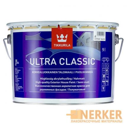 Ультра Классик полуматовая краска для дома (Ultra Classic)