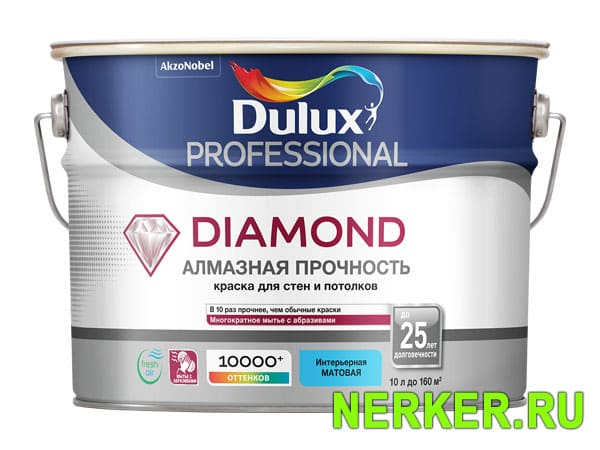 Dulux Diamond Soft Sheen / Дулюкс Даймонд Софт Шин