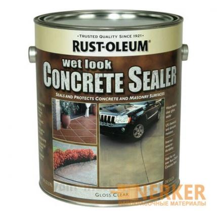 Пропитка для бетона с эффектом мокрого камня (Rust-Oleum)