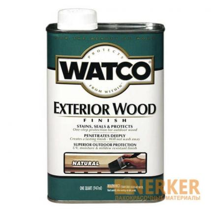 Watco Exterior Wood Защитное масло для деревянных фасадов и террас