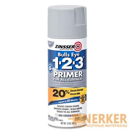 Универсальный пятноустраняющий грунт Zinsser Bulls Eye 1-2-3