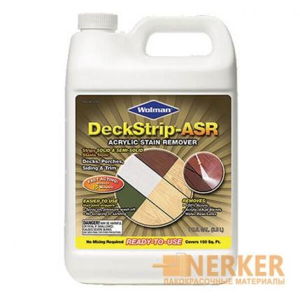 Смывка старых покрытий Wolman Deckstrip®-ASR