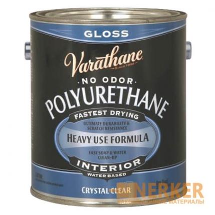 Акрил-уретановой лак для внутренних работ Crystal Clear Polyurethane Varathane