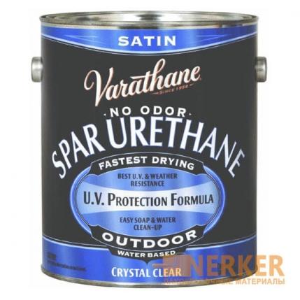 Акрил-уретановой водный лак для наружных работ Varathane