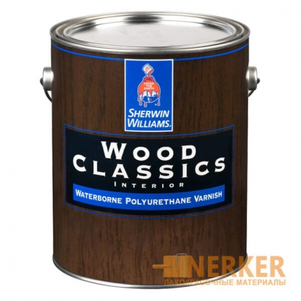 Wood Classics Waterborne Polyurethane Varnish Sherwin Williams