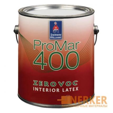 ProMar 400® FLAT винил-акриловая краска для стен и потолков