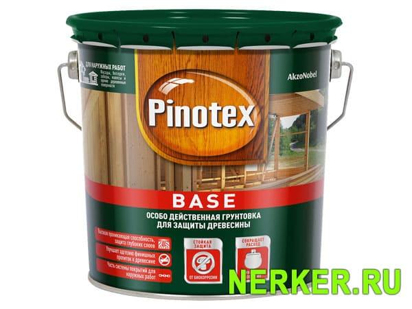 Грунтовка антисептик для дерева Pinotex Base (Пинотекс База)