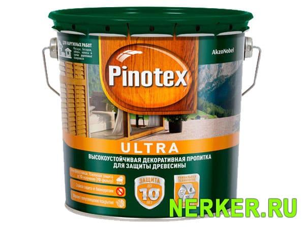 Пропитка для дерева Pinotex Ultra (Пинотекс Ультра)