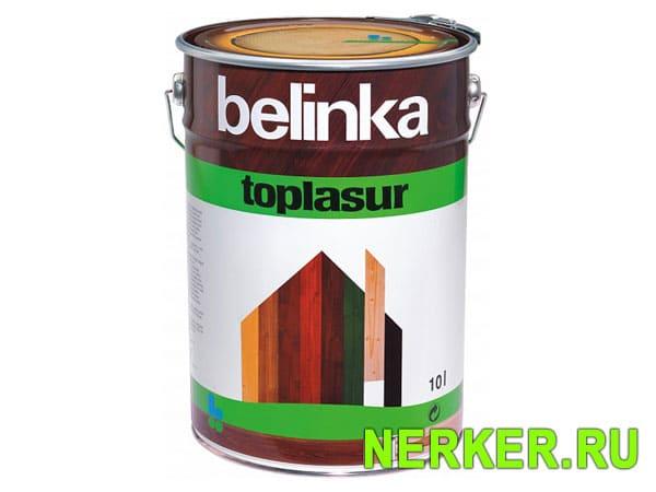 Лазурное покрытие для древесины Belinka Toplasur (Белинка Топлазурь)