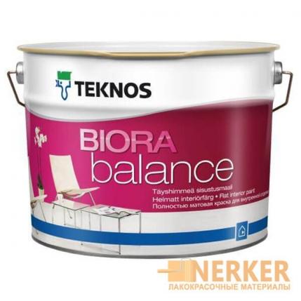 Краска интерьерная Teknos Biora Balance (Биора Баланс)