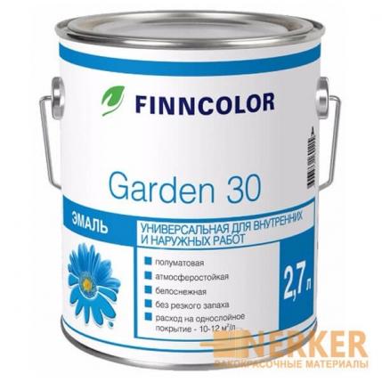 Garden 30 (Финнколор Гарден 30) полуматовая алкидная эмаль