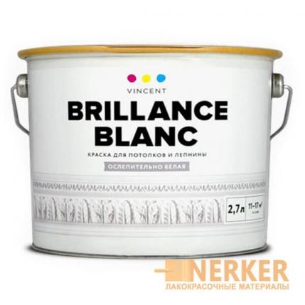 Потолочная акриловая краска Brillance Blanc (Брийанс Блан)