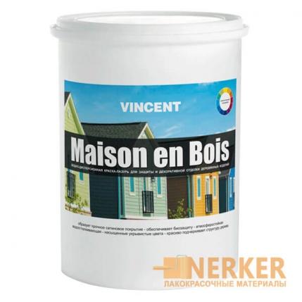 Краска-лазурь для дерева Maison en Bois (Мезон Буа)