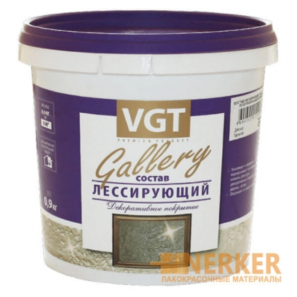 Перламутровый лессирующий состав Gallery VGT (ВГТ)