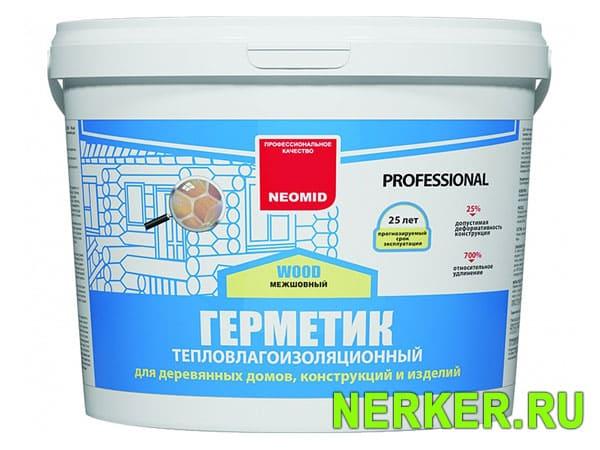 Герметик для деревянного дома Теплый Дом (Professional)