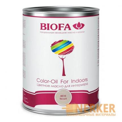 8510 Color-Oil For Indoors Масло для иньерьера белое Biofa (Биофа)