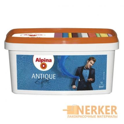 Лак с эффектом трещин кракелюр Alpina Antique Effekt (Альпина)