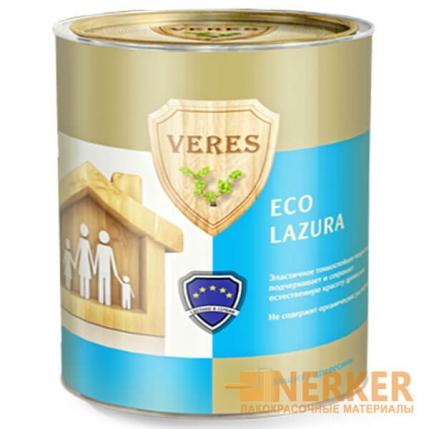 Veres Eco Lazura пропитки-антисептики для древесины Верес Эко Лазурь