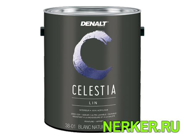 Акриловая гиппоаллергенная матовая краска Denalt Celestia (Деналт)