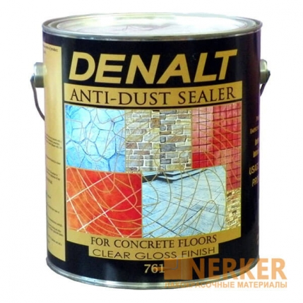 Лак для бетона и камня Anti-Dust Sealer Denalt