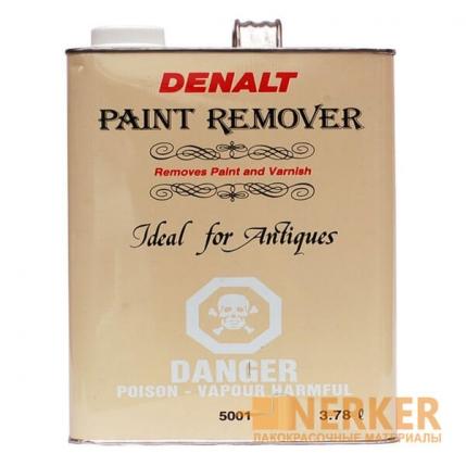 Удалитель старой краски и лака Denalt Paint & Varnish Remover (3,78л)
