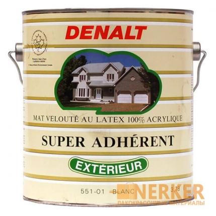 Denalt Super Adherent краска для внутренних и наружных работ по дереву