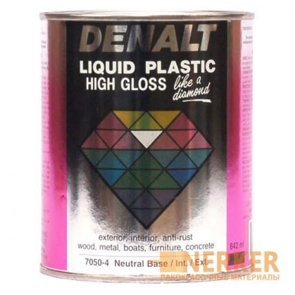 Полиуретановая алкидная эмаль Жидкий пластик Denalt Luquid Plastic