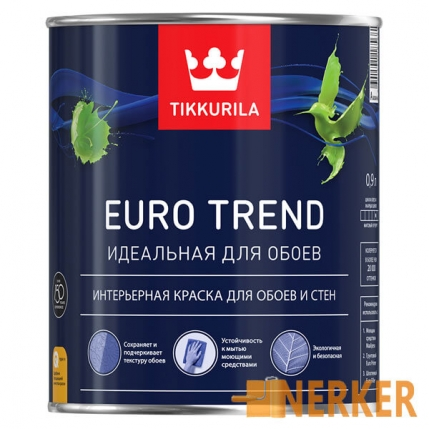 Евро Тренд краска для обоев и стен Euro Trend Tikkurila