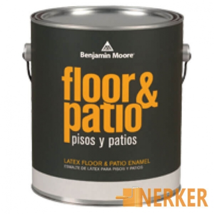 Краска Benjamin Moor Floore & Patio Latex Enamel 122