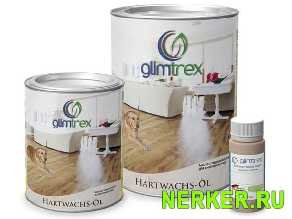 Цветное масло с воском для дерева Glimtrex