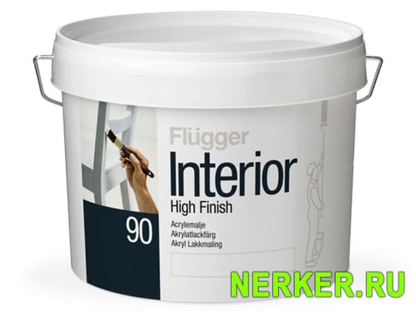 Flugger Interior High Finish 90 эмаль для мебели