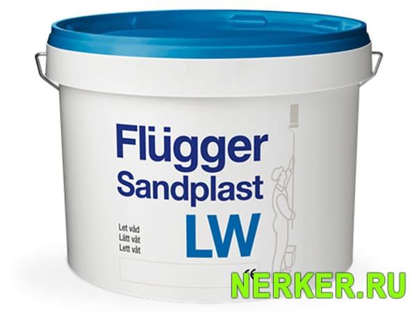 Flugger Sandplast LW Шпатлевка для влажных помещений
