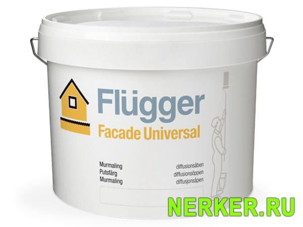 Flugger Facade Universal фасадная краска