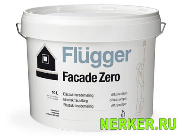 Flugger Faсade Zero эластичная фасадная краска