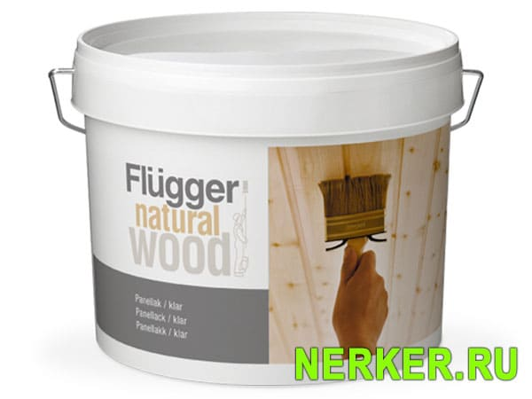 Flugger Natural Wood Panel Lacquer панельный лак