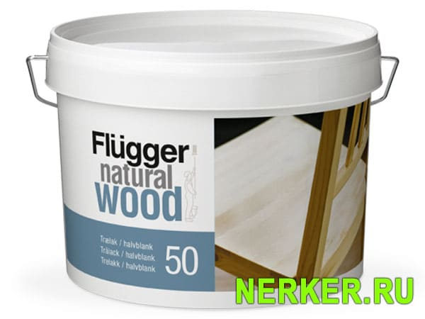 Flugger Natural Wood Lacquer 50 Лак для мебели