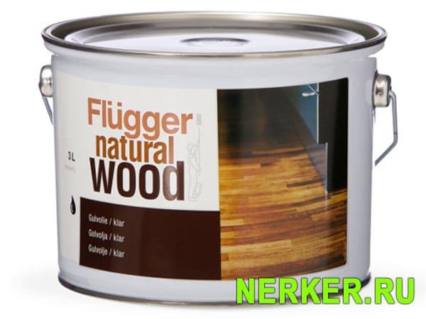 Flugger Natural Wood Floor Oil алкидное масло для пола