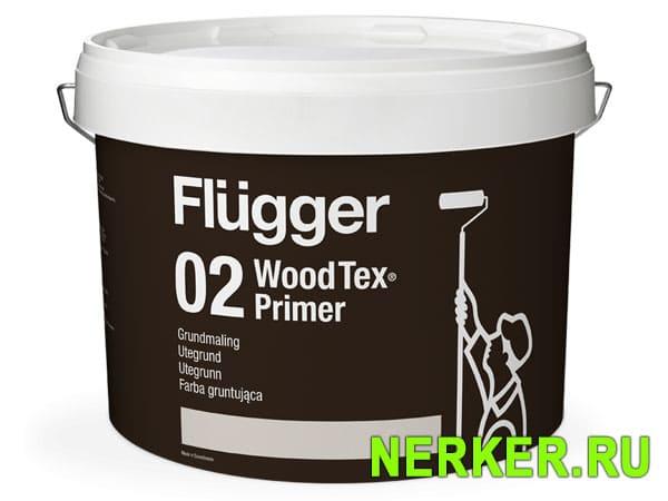 Flugger 02 Wood Tex Primer грунт для дерева