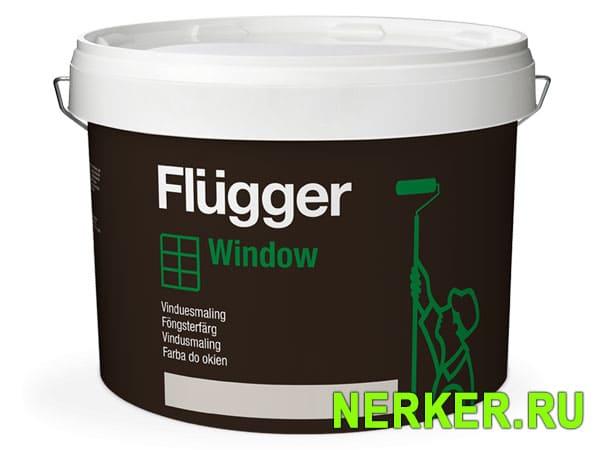 Flugger Wood Tex Window paint краска для окон и дверей